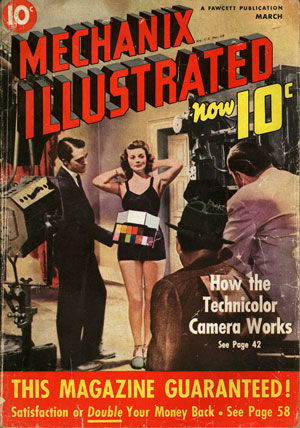 [Cover of Mechanix Illustrated, March 1939]